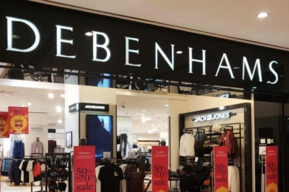 Malta Debenhams stores to remain open following UK chain's collapse