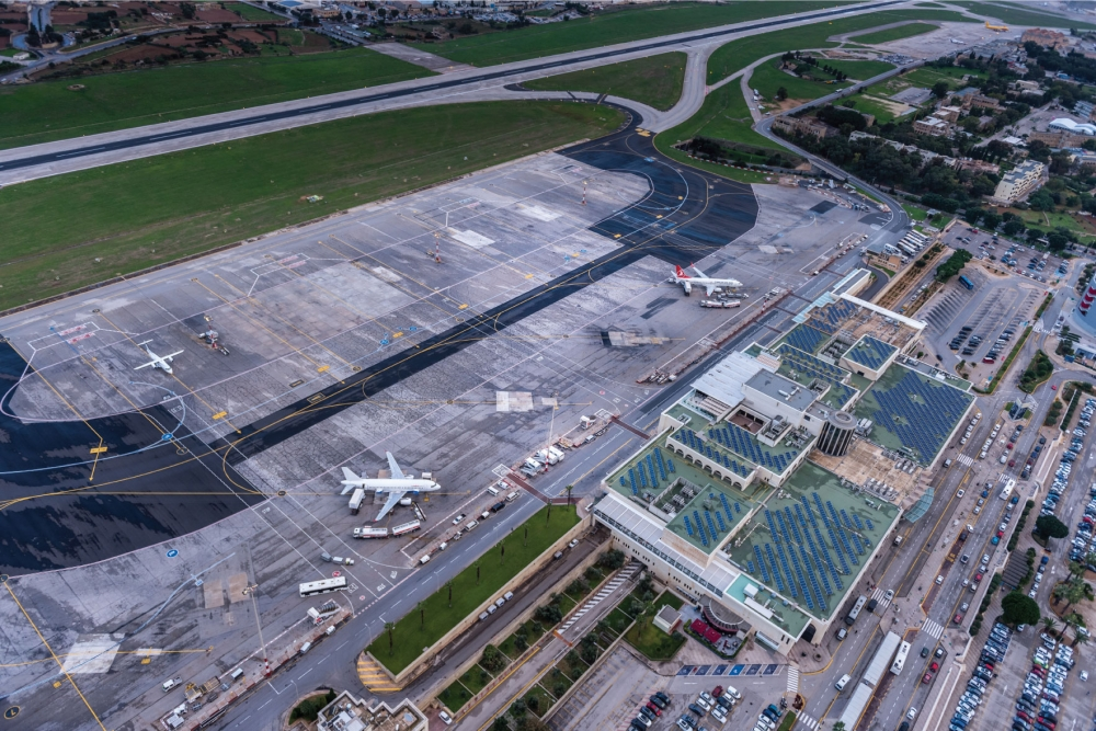 Over 3.2 million passengers welcomed at Malta International Airport in first half of 2019
