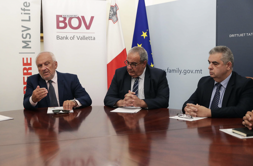Ministry signs MoU with BoV and Mapfre MSV Life on use of GEMMA platform
