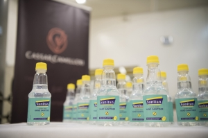 CassarCamilleri producing hand sanitiser at its PET bottlling facility