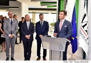 Malta Business Registry's new Zejtun offices inaugurated