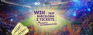 GO launches competition to win two LaLiga match tickets
