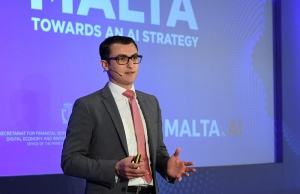 After blockchain success, Malta to take on AI giants