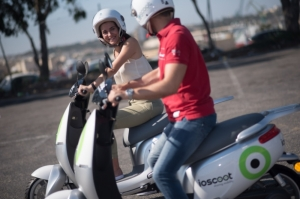 IoScoot gets commuters to their destination quickly and without harming the environment