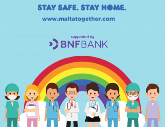 BNF Bank supports  'Malta Together'