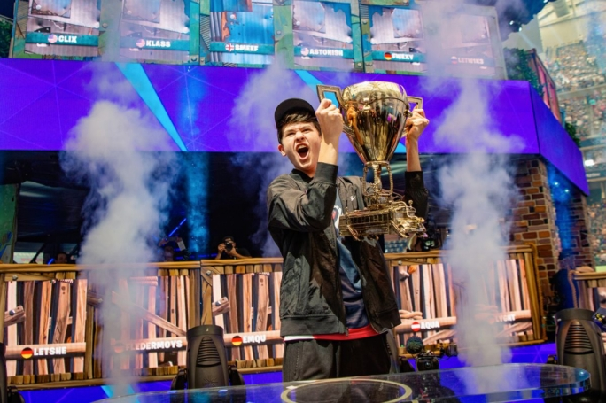 Fortnite World Cup champion Bugha