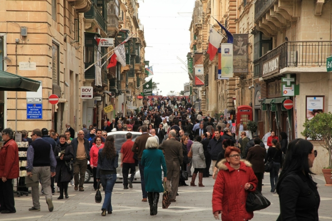 Late-night shopping coming to Valletta