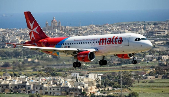 Malta sees 34,000 fewer flights in 2020
