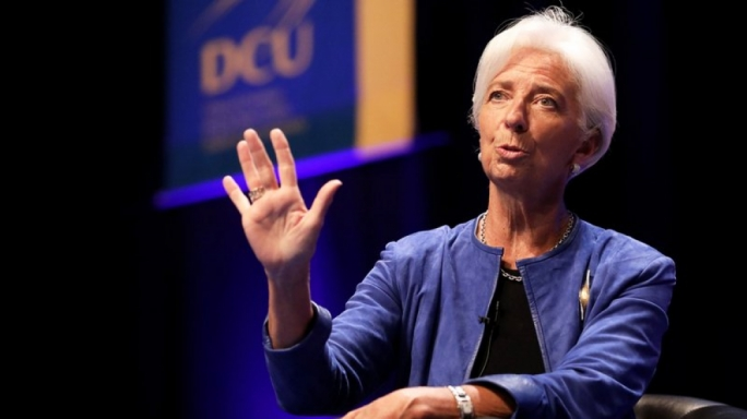 Christine Lagarde pictured during a visit to Dublin last year