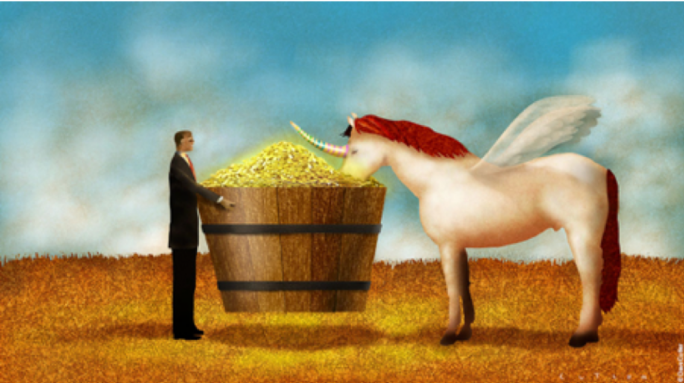 Unicorns seek nourishment in the AI trough