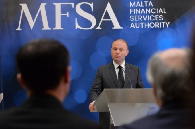 File photo: Prime Minister Joseph Muscat has already taken shots at cautious banks during the launch of MFSA's new strategy