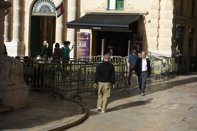 Valletta businesses lament worst-ever Black Friday