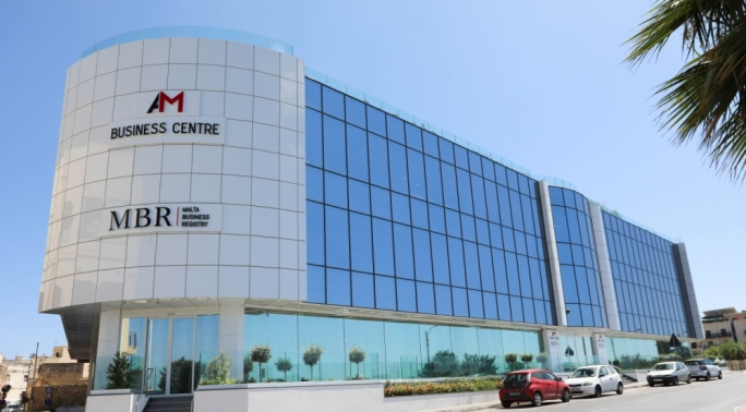 The Malta Business Registry headquaters