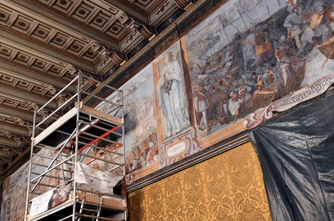 Restoration of unique and historic great siege paintings receive major boost through PA funding
